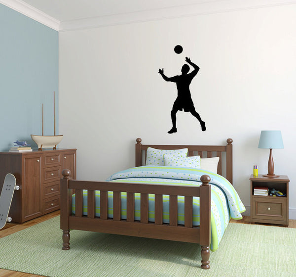 Volleyball Player Vinyl Wall Decal Sticker Graphic  - 1