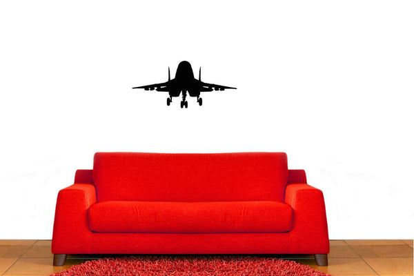 Fighter Jet Military Airplane Vinyl Wall Decal Sticker Graphic  - 1