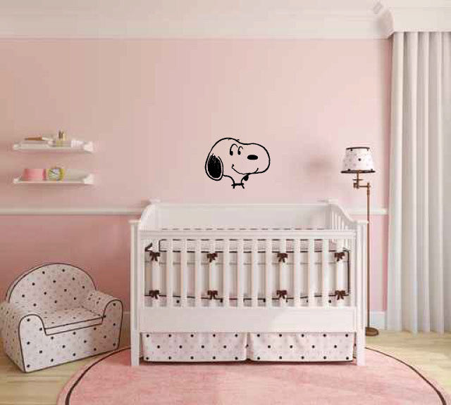 Snoopy Inspired Vinyl Wall Decal Sticker Graphic  - 1