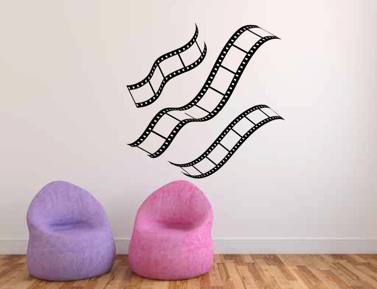 Film Strips Vinyl Wall Decal Sticker  - 1