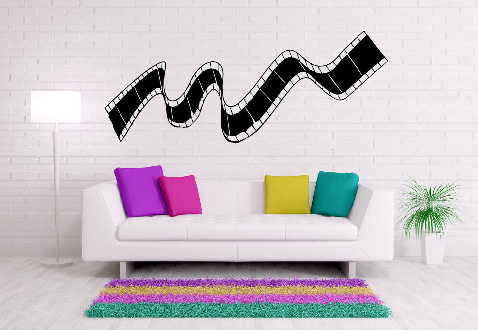 Film Strip Vinyl Wall Decal Sticker Graphic  - 1