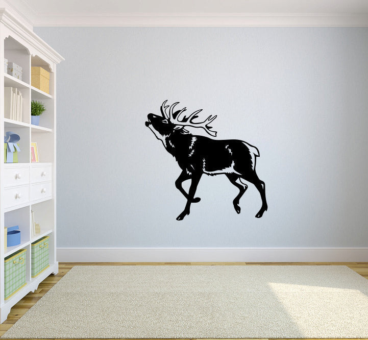 Elk Vinyl Wall Decal Sticker Graphic  - 1