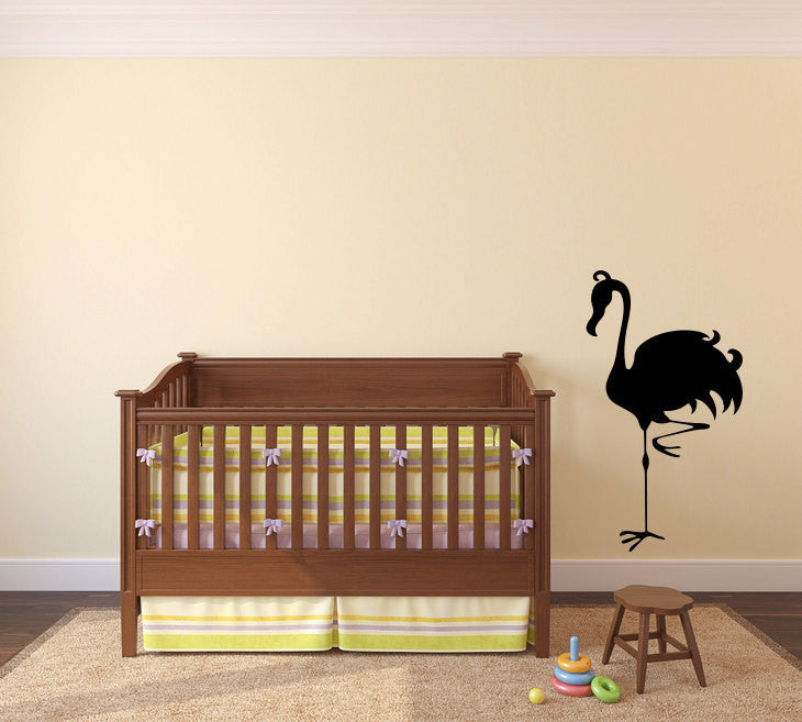 Tropical Flamingo Bird Vinyl Wall Decal Sticker Graphic  - 1