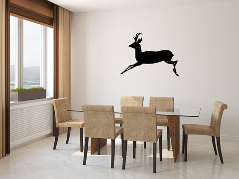 Deer Antelope Vinyl Wall Decal Sticker Graphic  - 1