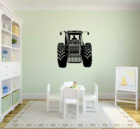 Tractor Vinyl Wall Decal Sticker Graphic  - 1