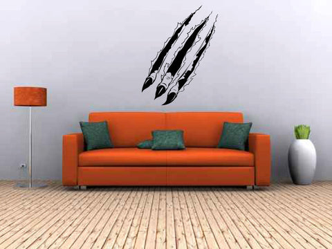 Claws Ripping Vinyl Wall Decal Sticker Graphic  - 1