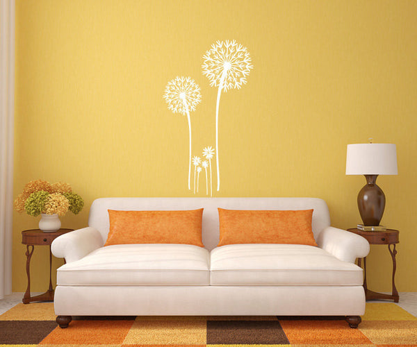 Dandelion Vinyl Wall Decal Sticker Graphic  - 1