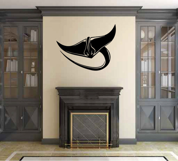 Stingray Vinyl Wall Decal Sticker Graphic  - 1