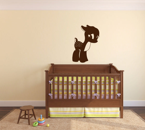 Deer Fawn Wall Decal Sticker Graphic  - 1