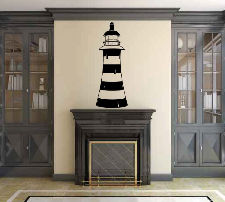 Lighthouse Vinyl Wall Decal Sticker Graphic  - 1