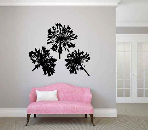Dandelions Vinyl Wall Decal Sticker Graphic  - 1
