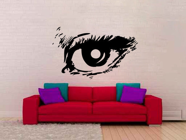 Eye Vinyl Wall Decal Sticker Graphic  - 1