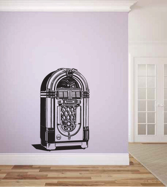 Jukebox Vinyl Wall Decal Sticker Graphic  - 1