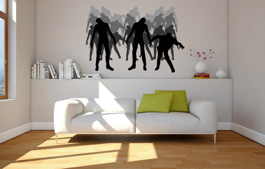 Zombies Wall Decal  - 1