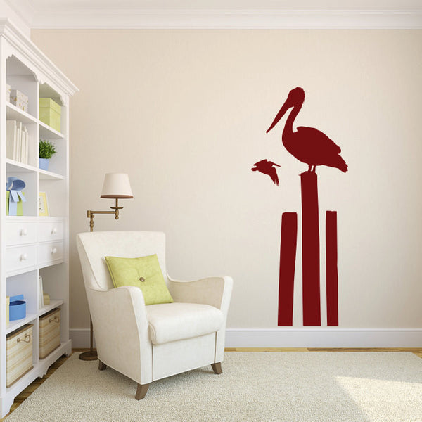 Pelican Vinyl Wall Decal Sticker Graphic  - 1