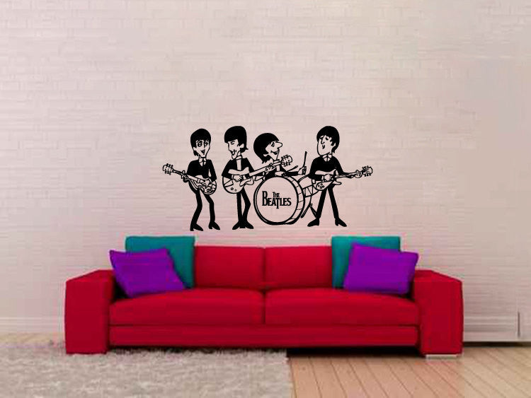 The Beatles Vinyl Wall Decal Sticker Graphic  - 1