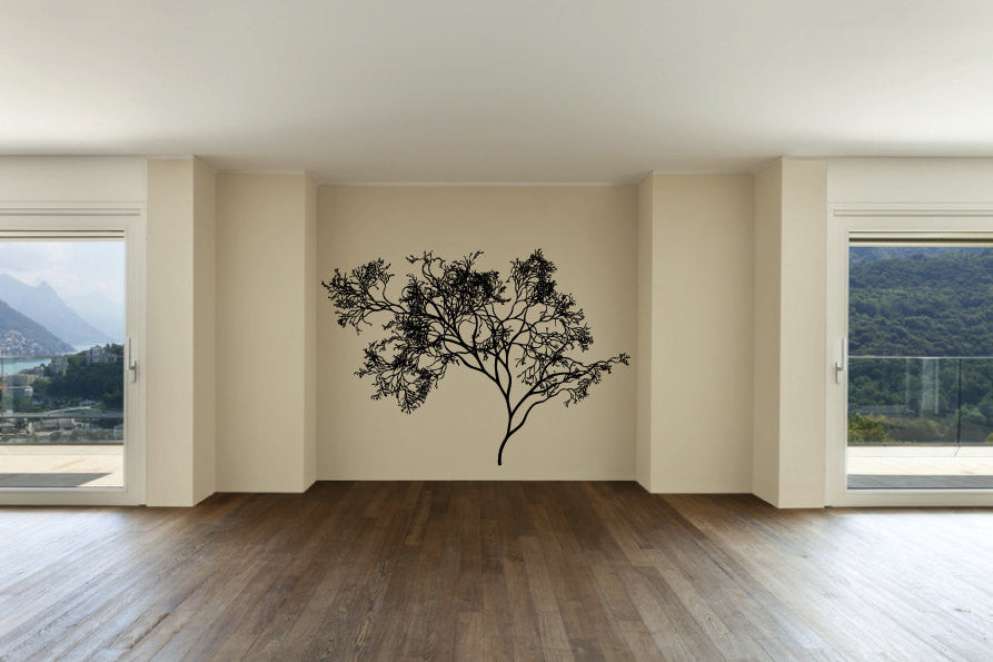 Tree Vinyl Wall Words Decal Sticker Graphic  - 1