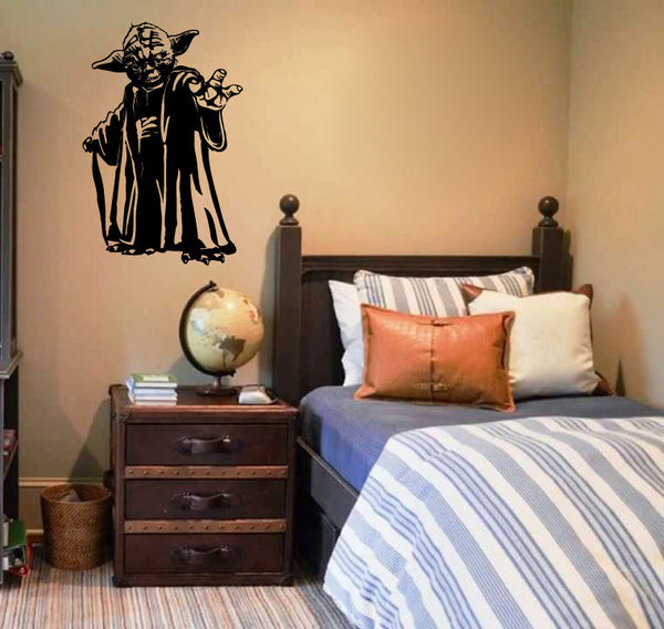 Yoda Vinyl Wall Decal Sticker Graphic  - 1