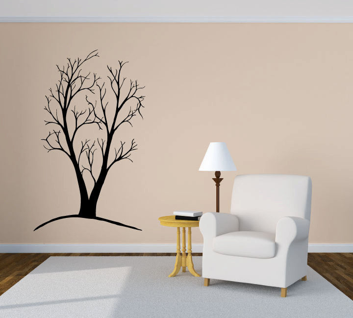 Tree and Branches Vinyl Wall Words Decal Sticker Graphic  - 1