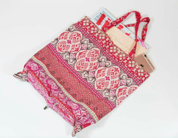 Expandable Small Shopping Bag