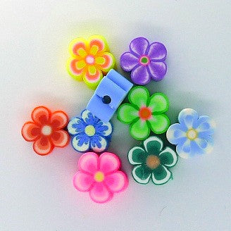 Flowers beads (20pc per pack)