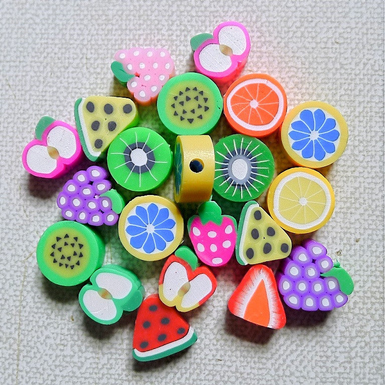 Fruits beads (20pc per pack)