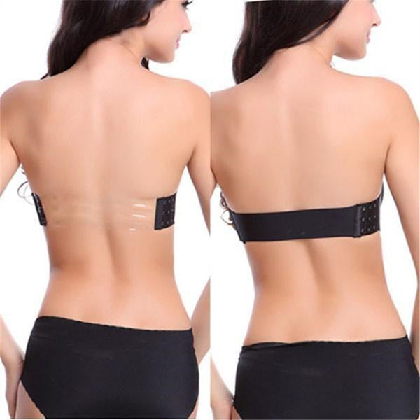 Underwired Back Band Strapless Bra
