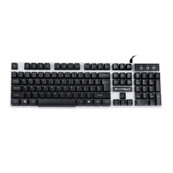eSports USB Colorful LED Keyboard For Mac or PC