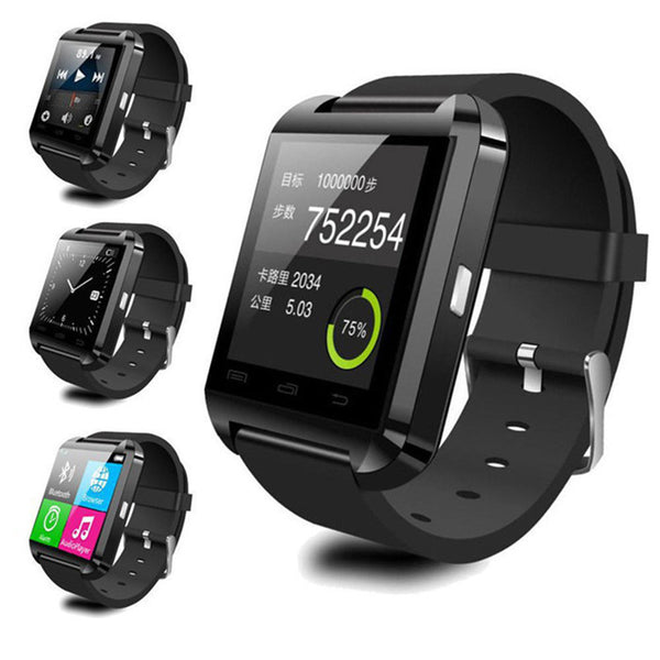 Smart Watch with Bluetooth and Pedometer