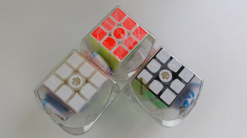 Gans 356s V2 Advanced 3x3x3 Speed Cube *WITH NEW CENTRE CAPS* - Gans - Cubetopia - 1
