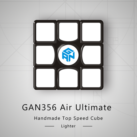 Gans 356 Air UM (Ultimate Magnetic) 3x3x3 Speedcube