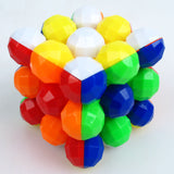 Heshu Bead-Shaped Colourful 3x3x3 Puzzle - Heshu - Cubetopia Australia - 1