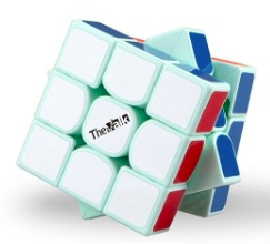 QiYi Valk 3 LIMITED EDITION Mint Green (55.5mm) 3x3x3 Speed Cube
