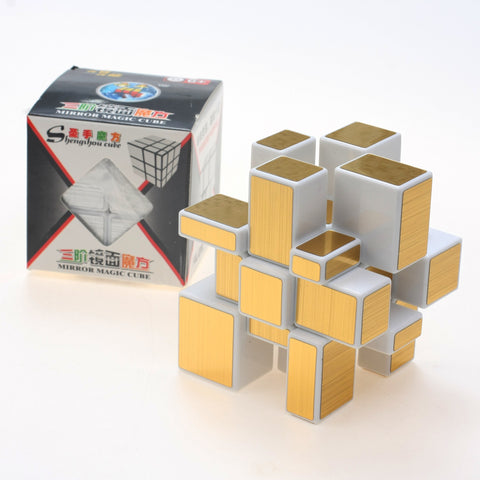 ShengShou Mirror Cube (gold / silver / blue / pink)