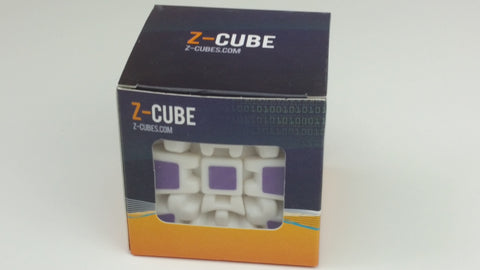 Z-Cube 3x3x3 Gear Cube V2 with Carbon-Fibre Stickers - Z - Cubetopia - 1