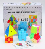 Z-Cube set of 5 Speed Puzzles - Gift Box - Z - Cubetopia - 3
