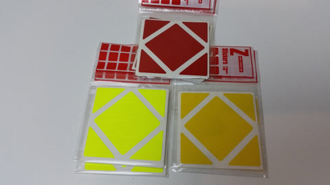 Z-Stickers for Skewb Cube - Z - Cubetopia