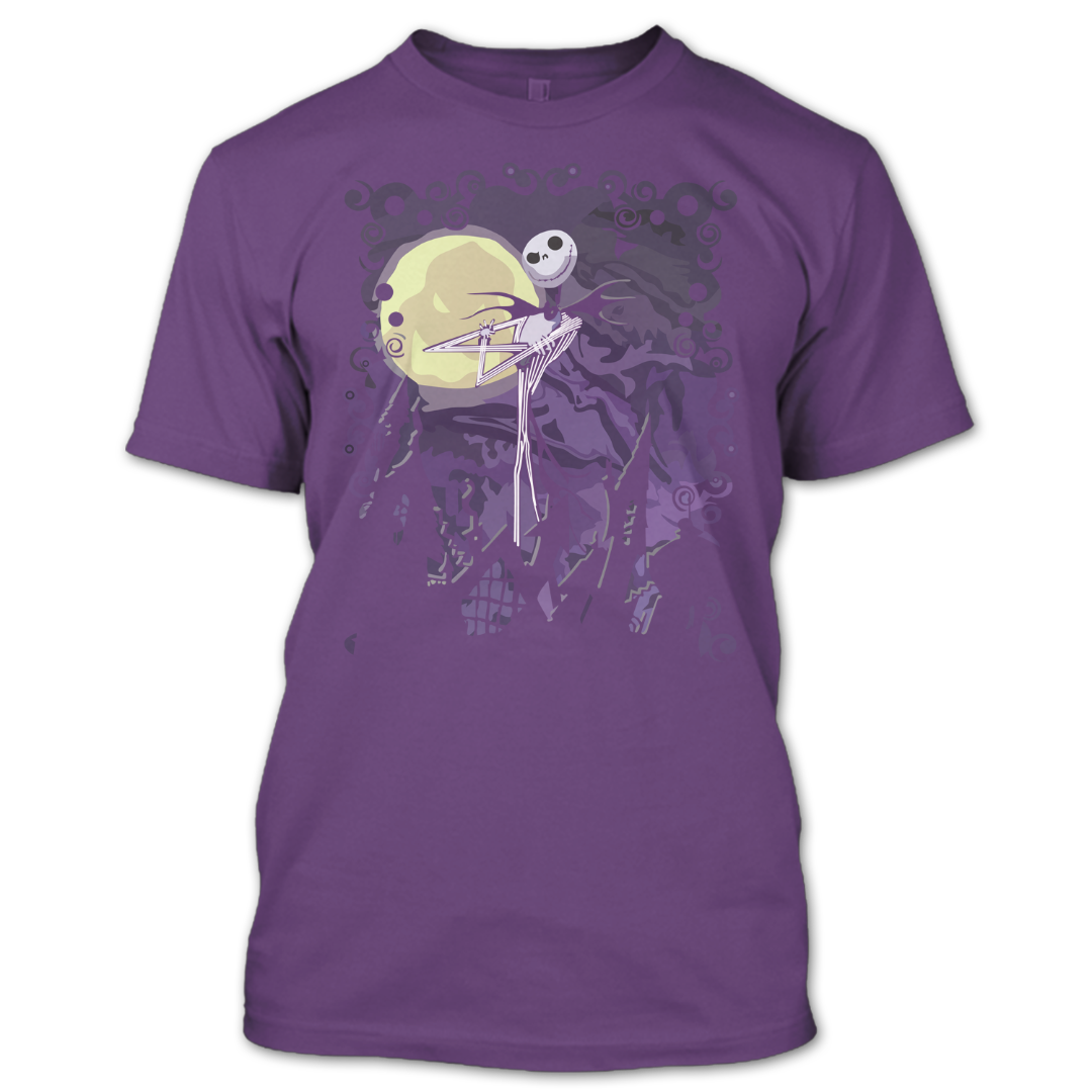 The Nightmare Before Christmas Shirt, Jack Skellington T Shirt ...