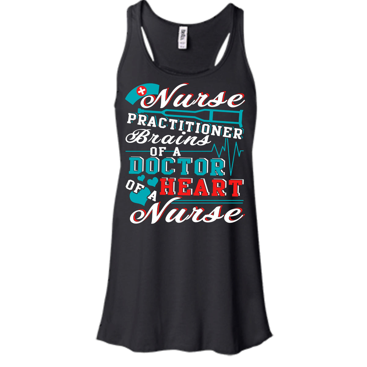 490e1362c3ae6 Nurse Practitioner T Shirt, Brains Of A Doctor T Shirt, Cool T Shirt ...
