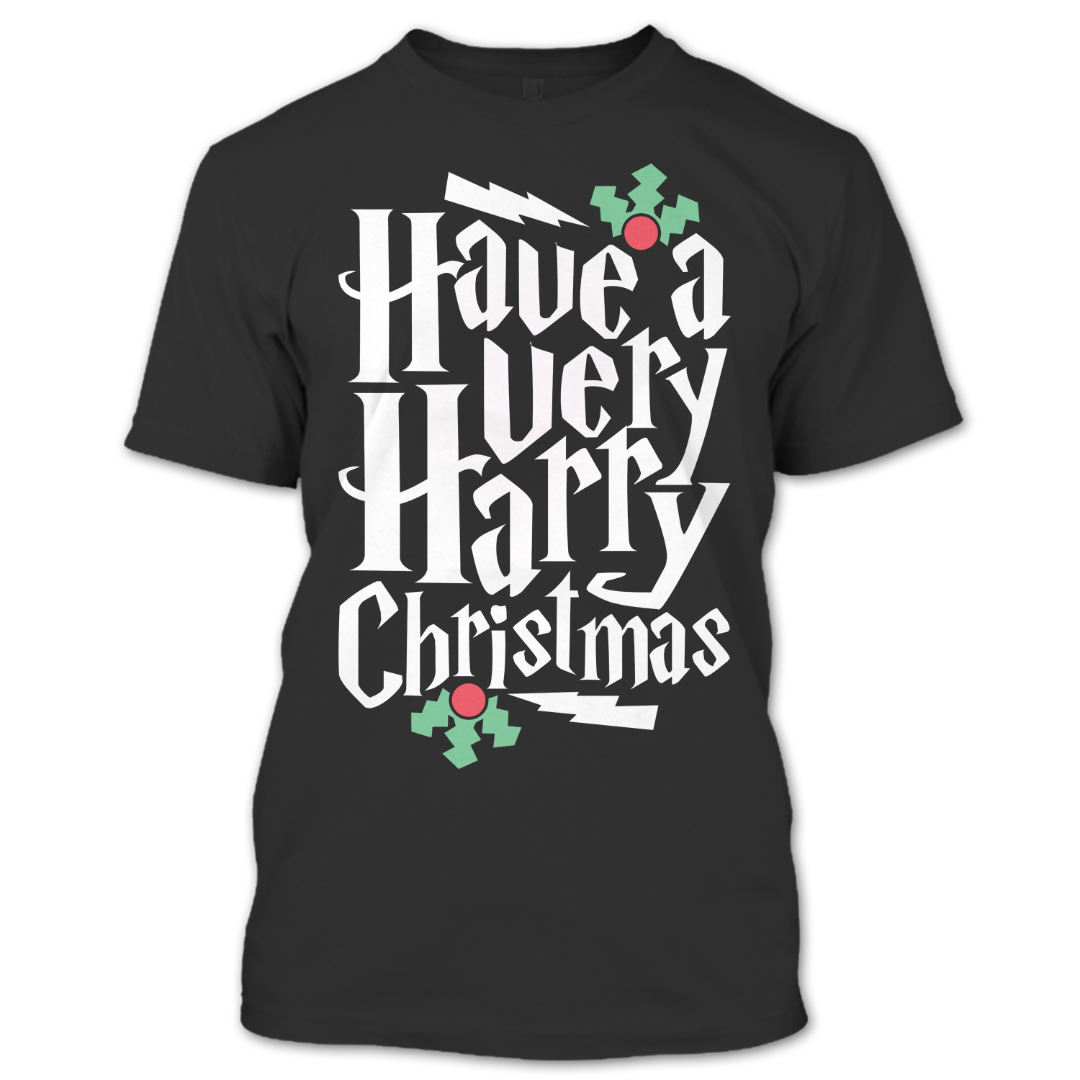 Harry Potter Christmas Shirt.Have A Harry Chrismas T Shirt Harry Potter T Shirt Merry Christmas T Shirt