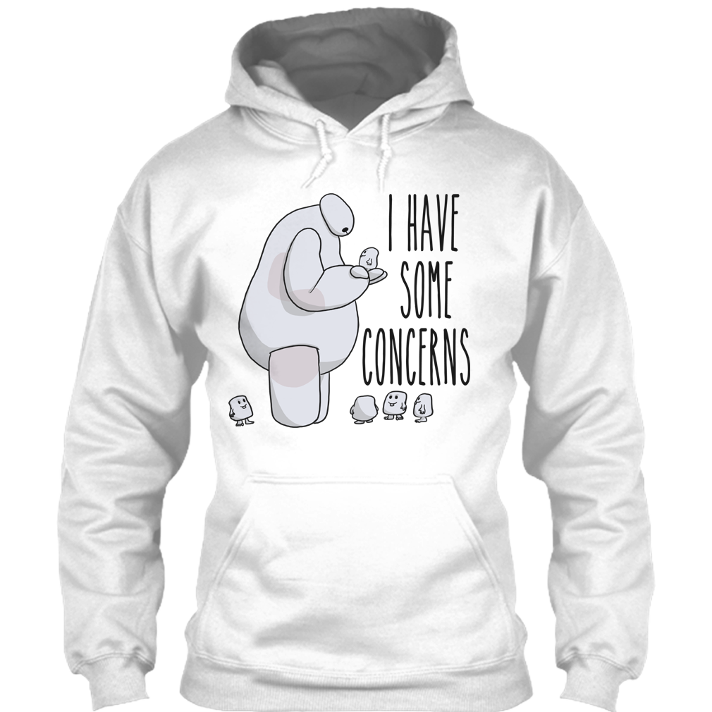 I Have Some Concerns Disney Big Hero 6 Baymax T Shirt Premium Fan Jaket Hoodie Black A With The Shopify Logo