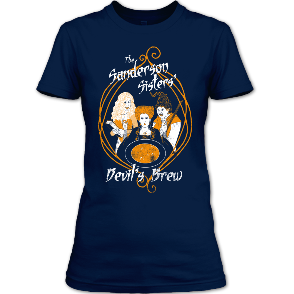 f45ef2f64 The Sanderson Sisters Devil's Brew T-Shirt, Halloween Witches Shirt ...