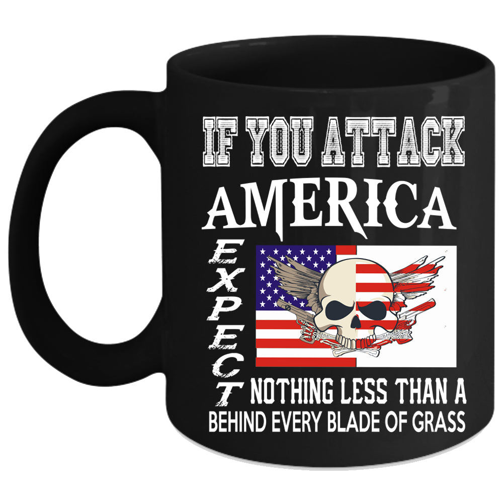 America Coffee Mug American Flag Coffee Cup Premium Fan Store