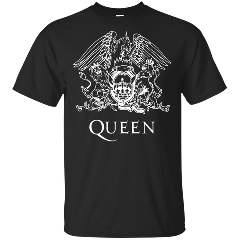 QUEEN BAND T SHIRT, queen vintage rock band 70s dont stop me now rhapsody fanatic logo on t shirt BLACK w