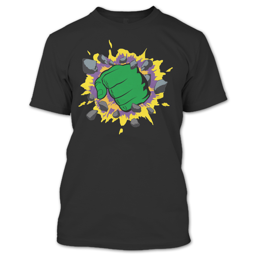 Im Always Angry Hulk Shirt Incredible Hulk Shirt Hulk Fist Bump