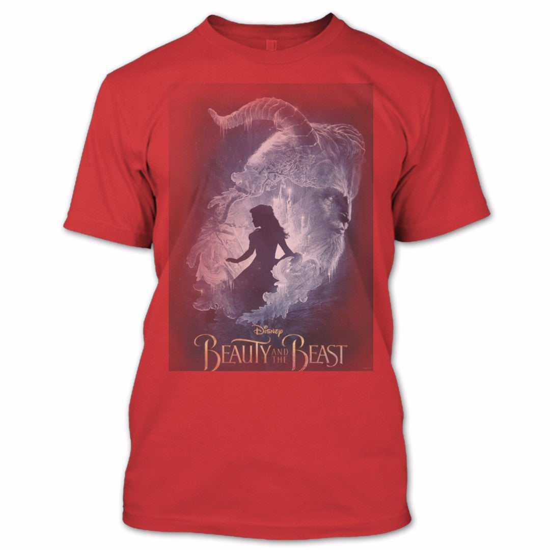 Beauty And The Beast T Shirt Beauty And The Beast Disney Movies Shirt Premium Fan Store