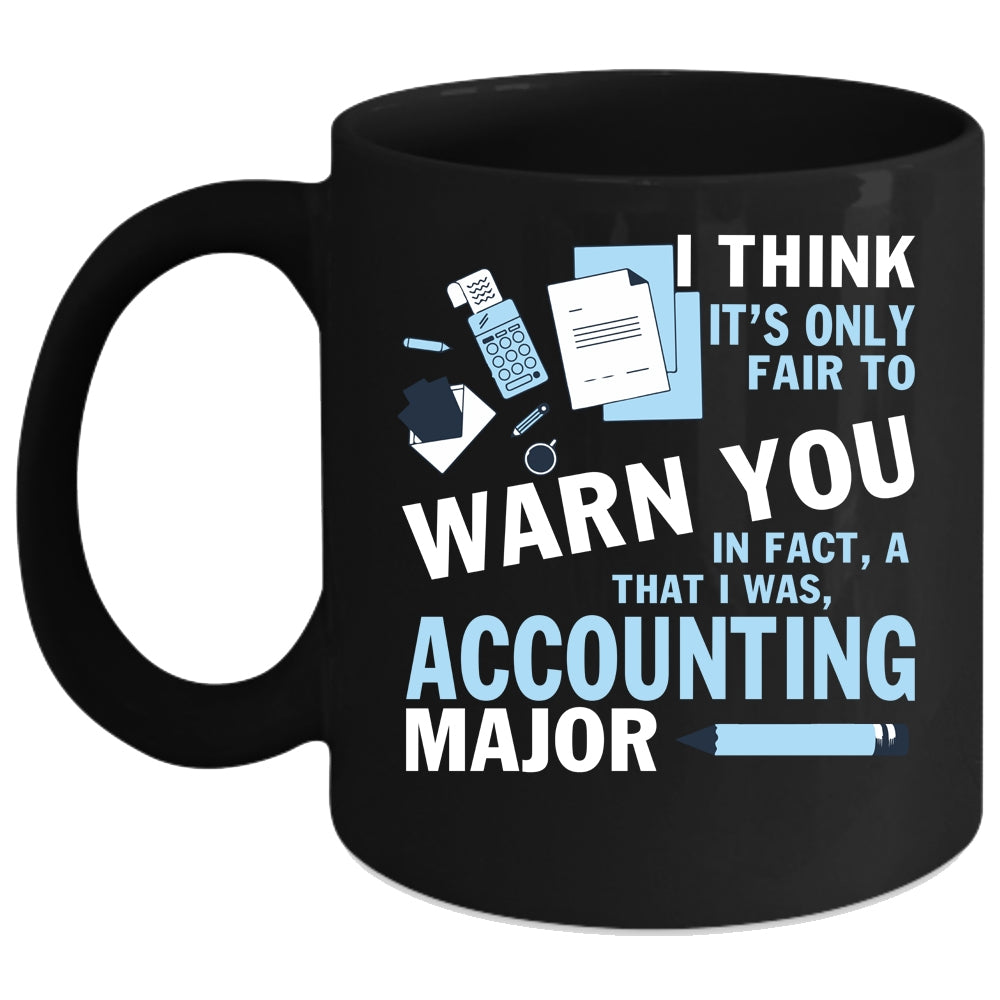 891e47c1 Accounting Major Coffee Mug, Funny Gift For Accountant Coffee Cup. A black t -shirt with the shopify logo ...