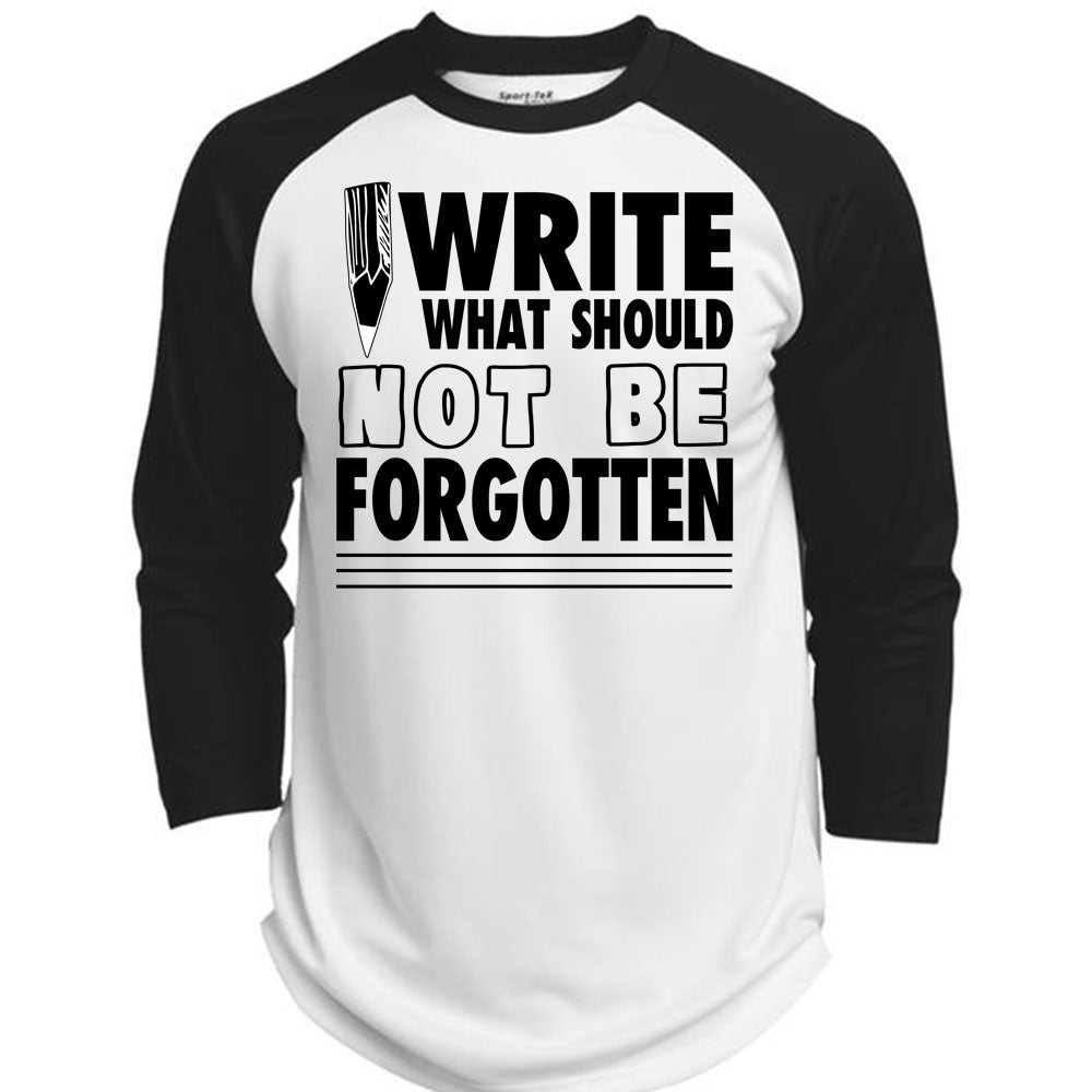 What should I write on a T-shirt