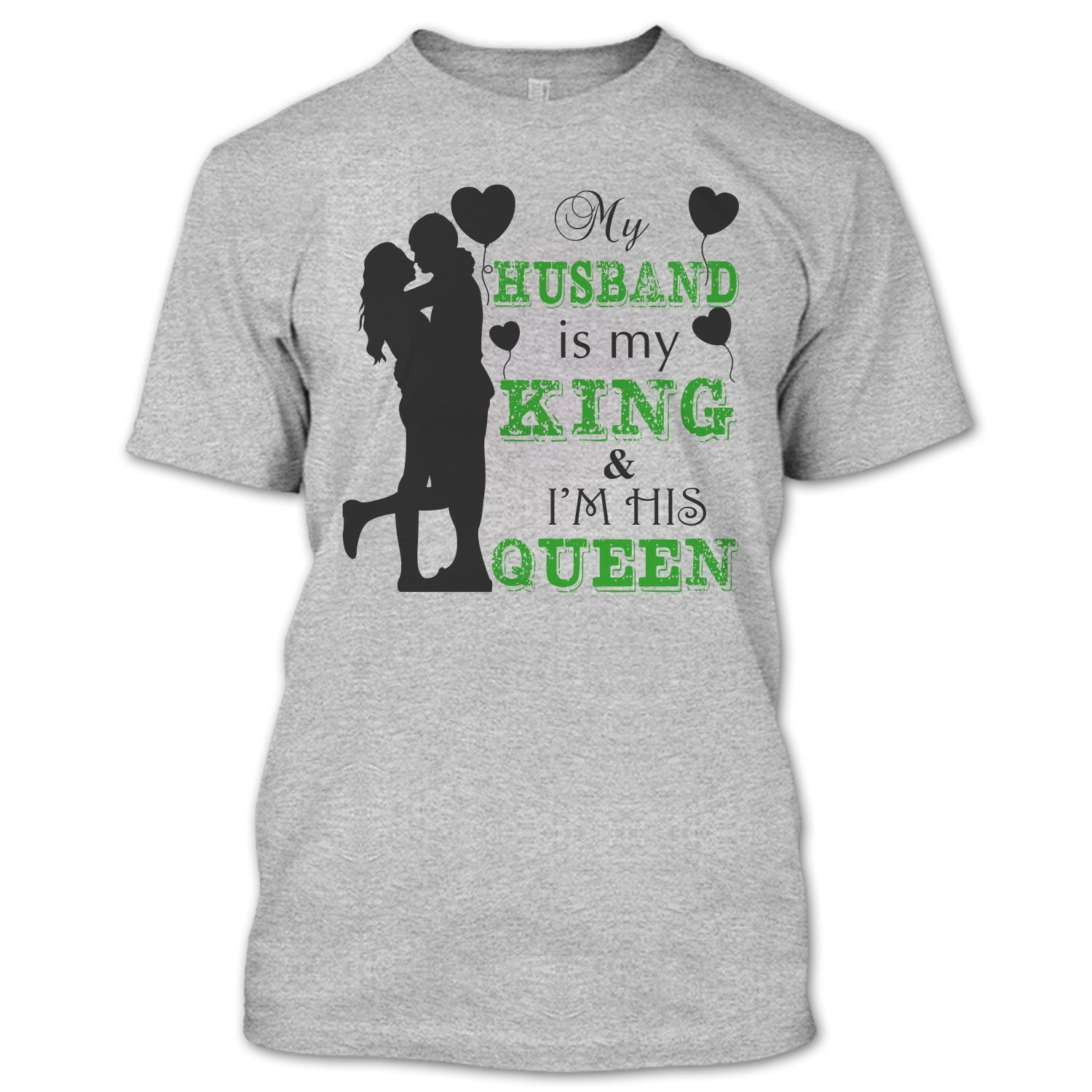My Husband Is My King T Shirt Gift For Wife T Shirt Premium Fan Store