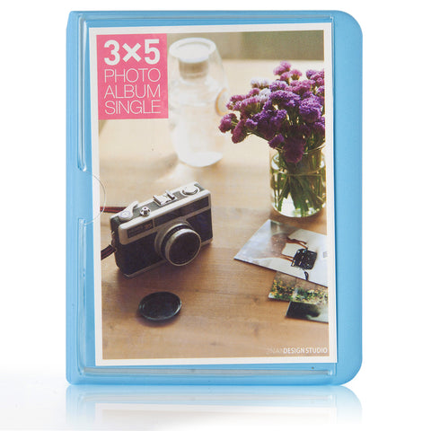 Fujifilm Instax Photo Album Woodmin 32 Pockets Elegant Pu Leather Ph